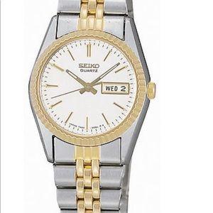 Seiko® Women's Stainless Steel Two-Tone Watch